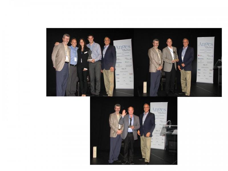 Première édition des Prix Anges Québec : PasswordBox, Handyem et l'investisseur Jean-François Grenon reçoivent les honneurs après une année couronnée de succès chez Anges Québec