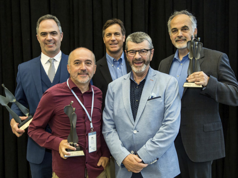 Super angel Mike Cegelski, 4C Medical and SoundBite Medical Solutions honored at the Anges Québec Annual Meeting